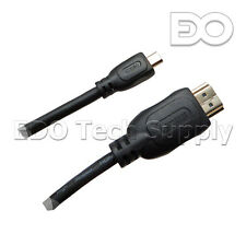 "10 ft Micro HDMI HDTV Cable Cord  for ASUS Chromebook C201 11.6"" C201PA-DS02"