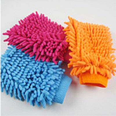 Great Mitt Microfiber Car Window Washing Home Cleaning Cloth Gloves