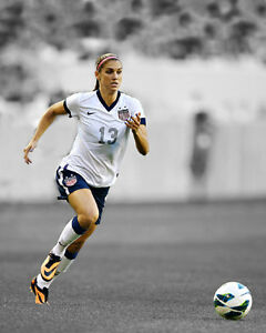 61ccd381080 USA Soccer ALEX MORGAN Glossy 8x10 Photo Spotlight Poster FIFA Print ...