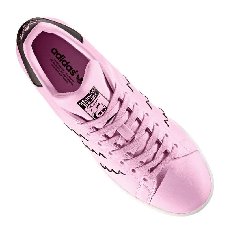 Adidas Originals Smith Stan Smith Originals Damen Pink Schwarz 2769e6