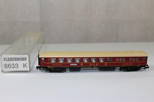 n4003, Fleischmann 8633 K Speisewagen DSG mint BOX Spur N KKK NEM