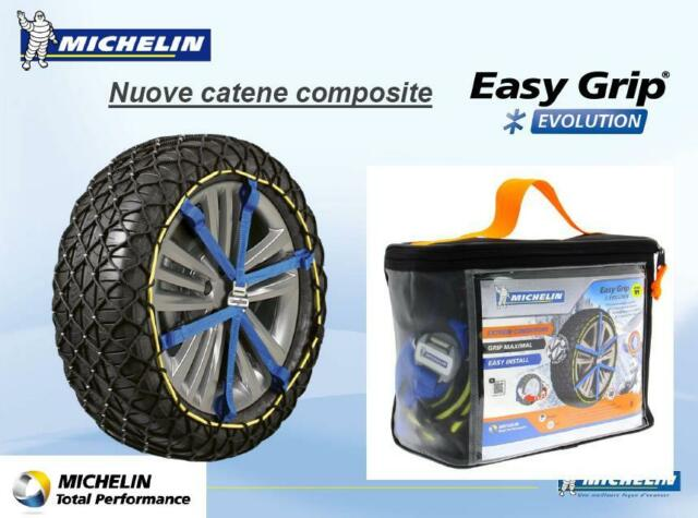 michelin easy grip evolution evo5 catene da neve raggio 17. Black Bedroom Furniture Sets. Home Design Ideas