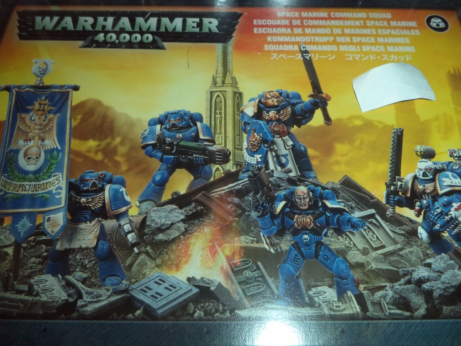 Space Marine Command Squad - Warhammer 40k 40,000 Games Workshop Model New