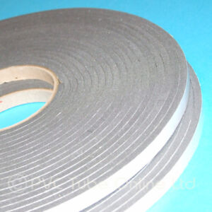 Details about Single Sided Foam Tape 4 5mm Thick x 10mm Wide Self Adhesive