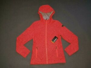 Details zu Icepeak Damen Fleece Jacke TOVE Gr 36 NEU ArtNr 2 54851605 orange