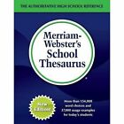 Merriam-Webster's School Thesaurus: Designed for Students Aged 14+ by Merriam-Webster Inc. (Hardback, 2017)