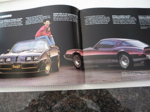 ! Pontiac 1981 deluxe full line brochure-from just open case-N.O.S