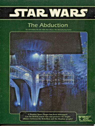 40053 West End Abduction 1980s-90s Star Wars Role Playing Game Adventure