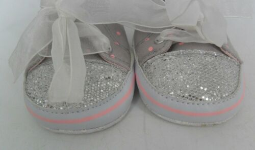 7a372a2cb99b 3 sur 6 My 1st Yeats Personalised Glitter High Top Trainers 0-6 Months  JS087 NN 12