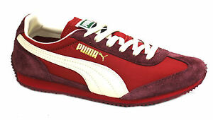 03 para hombre Sf77 Up Suede Hombres Trainers Nylon Puma D123 Mujeres Lace Rojo 354656 B17Sqxn