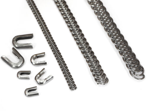 10mm für Korsettstäbe inkl 10m Spiralfedern 5 3m 1m 8 Kappen Edelstahl
