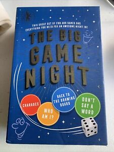 Charades, Game Night Box set not opened, Who Am I, Don't Say A Word, etc, +cards
