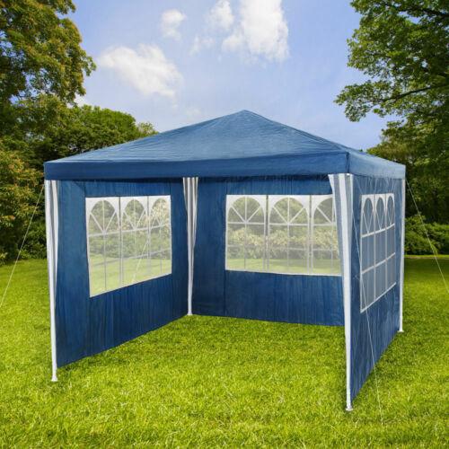 Panana 3 X da Esterni Giardino Impermeabile 3m PE Gazebo Marquee Canopy partito Tenda Nuovo