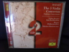 Mozart – The 5 Violin Concertos -Kremer / Kashkashian / Harnoncourt -2CDs