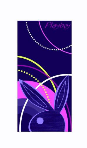 100/% coton serviette de plage taches PLAYBOY Urban lilas prune filles BUNNY