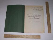 TIES And TIMBER GROWTH - Samuel B Fisher - 1918 - RAILWAY TIES - MKT Railway Lin