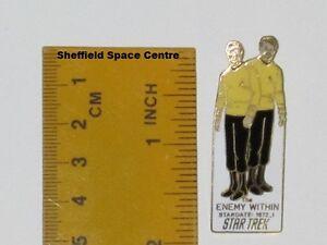 Star Trek The Enemy Within Original Series Episode Pin Badge STPIN7905
