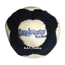 SandMaster Dirt Bag Hacky Sack Foot Bag Multi Color Black White Sand Master SM01