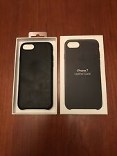 Genuine Apple iPhone 7 Natural Leather Case Black Cv29