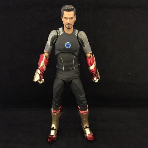 Marvel/'s The Avengers Iron Man Tony Figma Action Hero Figure Toy Brand New 17cm
