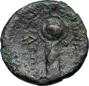 LYSIMACHOS-Thrace-King-305BC-Lampsakos-Ancient-Greek-Coin-ATHENA-TROPHY-i68691