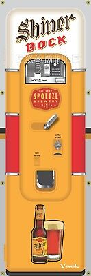 MICHELOB ULTRA BEER VENDING MACHINE RETRO VINTAGE ART BANNER MURAL SIGN 2/' x 6/'