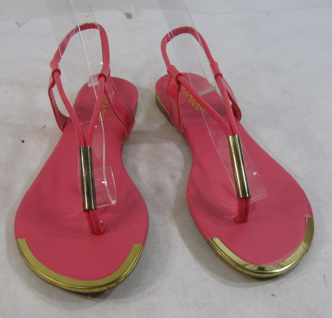 new Summer Pink/Gold Womens Shoes Ankle Straps Sexy Sandals 6.5 Size 6.5 Sandals bfb96e