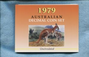 1979-Mint-Coin-Set-Uncirculated-UNC-Sherwood-Australia