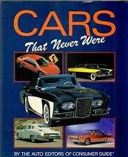 Car Book--Cars that never were by Consumer Guide 1994-----205