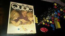 Vintage Qubic Game 3D Tic Tac Toe Parker 1968 Spare Replacement Pieces Parts