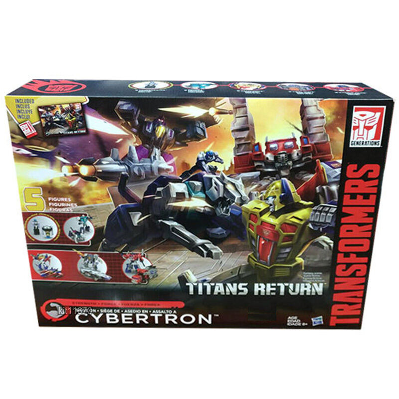 Transformers Titans Return Siege on Cybertron Strength Force In-Hand UK