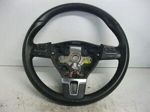 Lederlenkrad-FUR-Airbag-VW-Touran-1-4-TSI-DSG-Highline-1T0419091AC