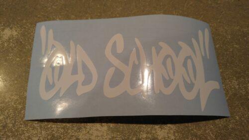 Window Toolbox Sticker #247 Old School Sticker