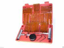 55 Piece Tire Repair Tools Kit Plug Flat Tires For Car Trucks Motorcycle Atv