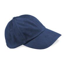 Beechfield Low Profile 6 Panel HEAVY Brushed Cotton Cap Plain Baseball Cap  Sport ee5b5151b211
