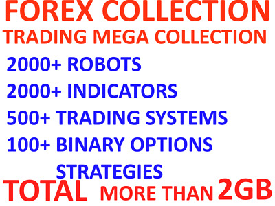Forex Trading Mega Collection 2k Robots 2k Indicators 500