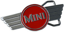 Classic MINI COOPER  belt buckle  - Red