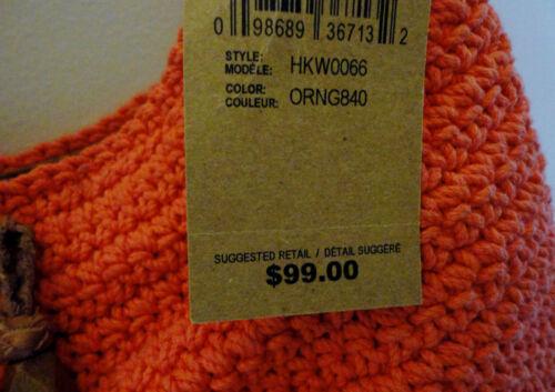 A Msr Ojai Borsa Brand Frangia Uncinetto Pelle Nuovo Lucky Arancione Tracolla C4t8q