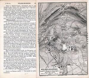 Kassel-Wilhelmshoehe-1888-kl-orig-Plan-frz-Reisef-1-S-Hercule-Chateau