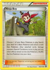 Pokemon: 4x Ninja Boy - 103/114 - Uncommon - NM-Mint XY Steam Siege