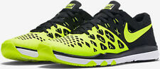 NIKE TRAIN SPEED 4 MEN'S SZ 9.5 TRAINING Running SHOE VOLT/BLACK 843937 700