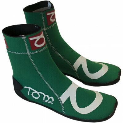 Tom Caruso Calzari Grossi Scarpe Shoes Beach Tennis Mare Sport Neoprene Verde