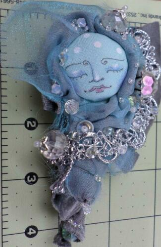 """Pattern /""""Fairy Sprout/"""" By Paula McGee Paper *NEW* Cloth Art Doll"""