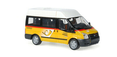HO 1:87 Promotex # 6555 Ford Transit Crew Cab Rietze Utility Truck