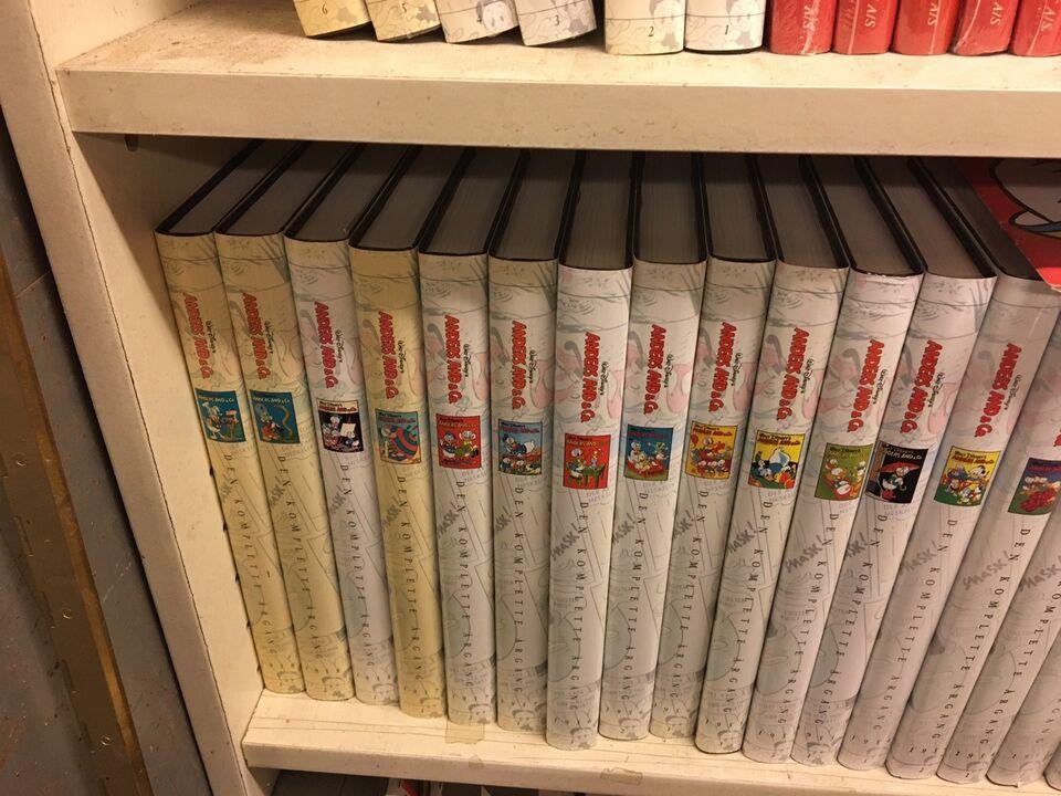 Bøger og blade, Anders And samle bøger