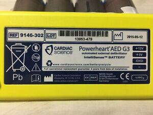 9-X-POWERHEART-AED-G3-Intellisence-BATTERIES-Date-Expired-12-2Vdc