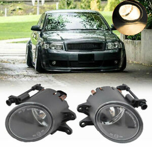 Pair-Front-Bumper-Fog-Light-Lamp-for-A4-Convertible-B6-B7-2002-2009-8E0941699B