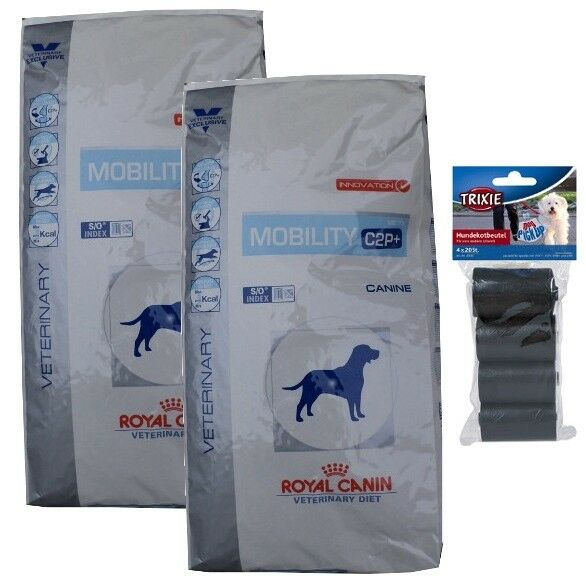 2x12kg Royal Canin Mobility c2p Veterinary Diet cibo per cani  80 PZ. kotbeutel