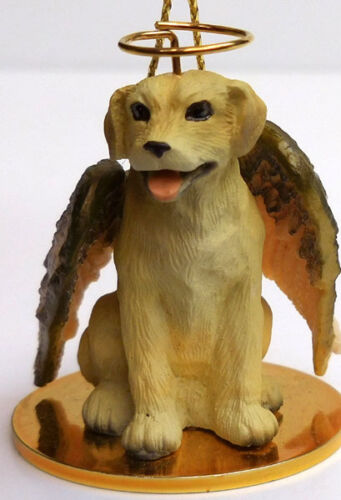 LABRADOR ANGEL DOG ORNAMENT CONV YELLOW CONCEPTS,TINY ONES,ITEM DTA24B