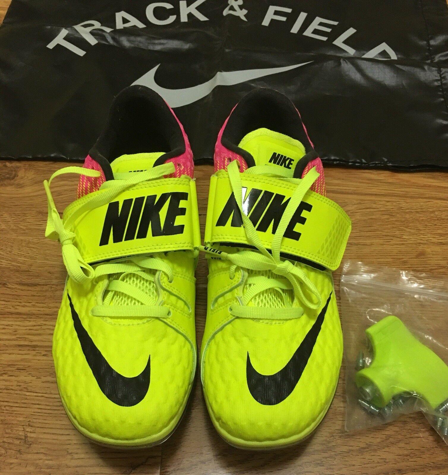 new products 9ad5d 39509 Nuove nike nike nike zoom hj elite track giallo di salto in alto le donne  scarpe Uomo 4,5 6 8eca0a